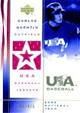 2002 USA Baseball National Team Jerseys #CQ Carlos Quentin