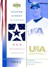 2002 USA Baseball National Team Jerseys #HS Huston Street