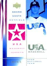2002 USA Baseball National Team Jerseys #SC Shane Costa