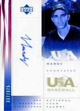 2002 USA Baseball National Team Signatures #JH J.J. Hardy
