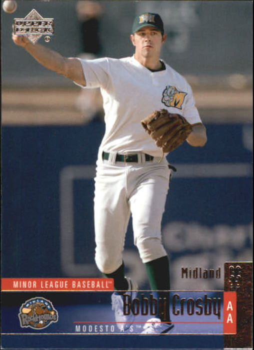 2002 UD Minor League #14 Bobby Crosby