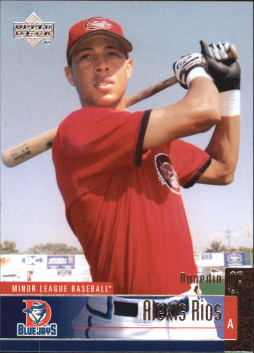 2002 UD Minor League #22 Alexis Rios