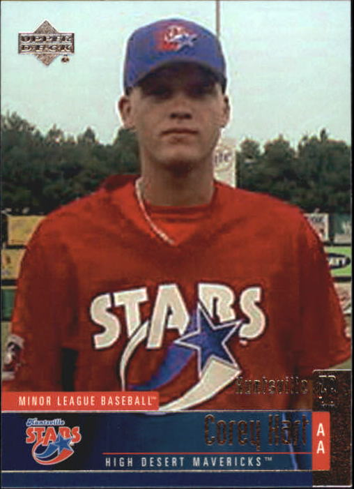2002 UD Minor League #37 Corey Hart
