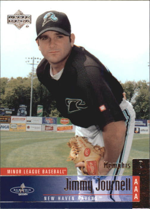 2002 UD Minor League #43 Jimmy Journell