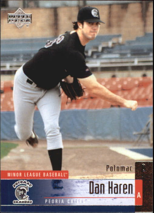 2002 UD Minor League #48 Dan Haren