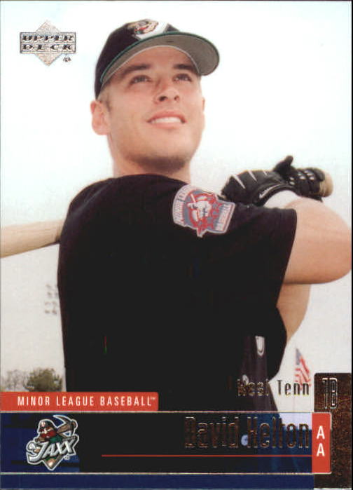2002 UD Minor League #54 David Kelton