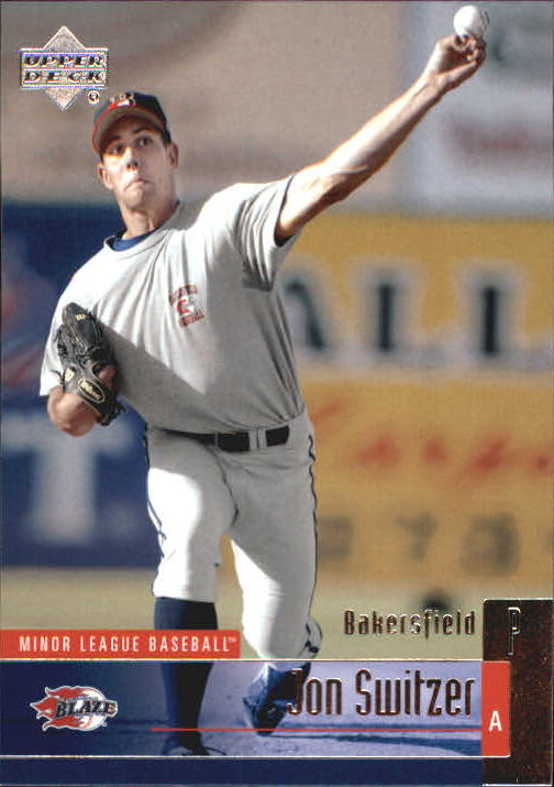 2002 UD Minor League #59 Jon Switzer