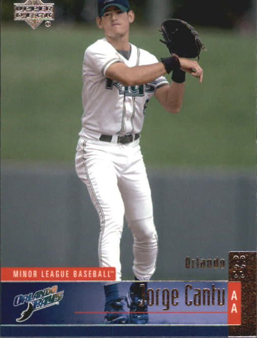 2002 UD Minor League #61 Jorge Cantu