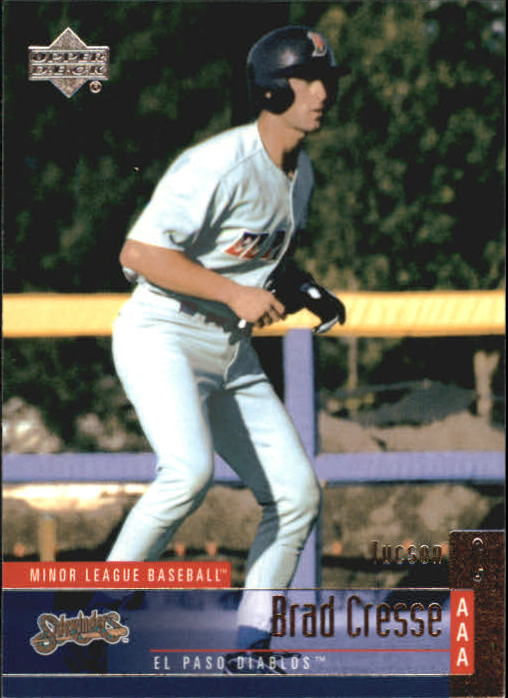 2002 UD Minor League #65 Brad Cresse