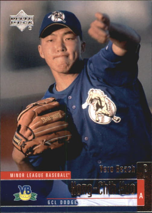 2002 UD Minor League #75 Hong-Chih Kuo