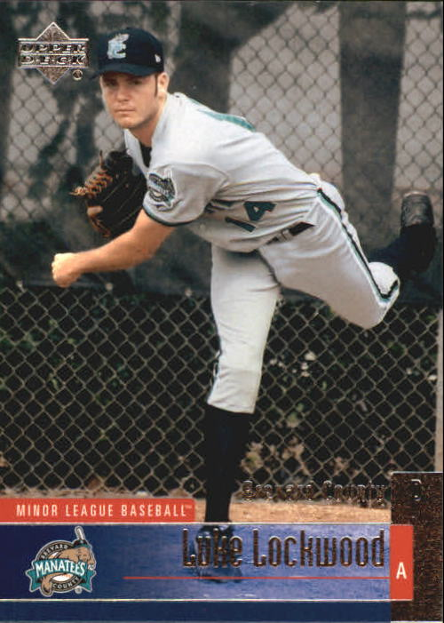 2002 UD Minor League #80 Luke Lockwood