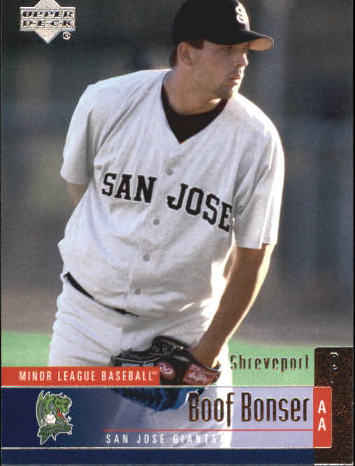 2002 UD Minor League #86 Boof Bonser