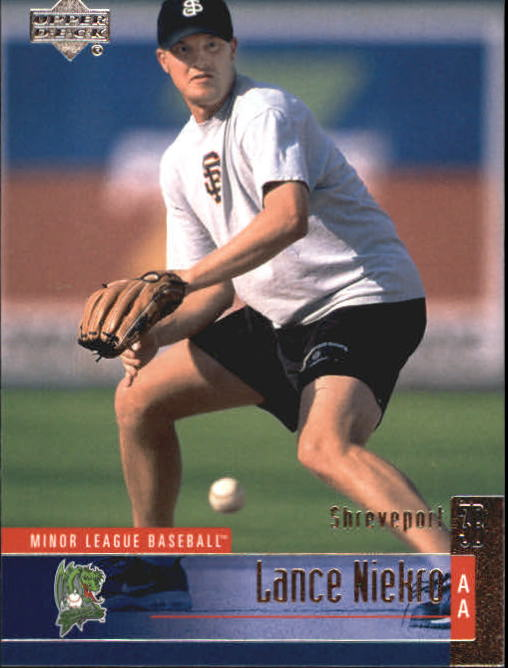 2002 UD Minor League #89 Lance Niekro