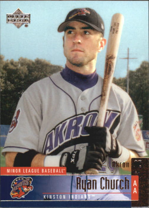 2002 UD Minor League #93 Ryan Church