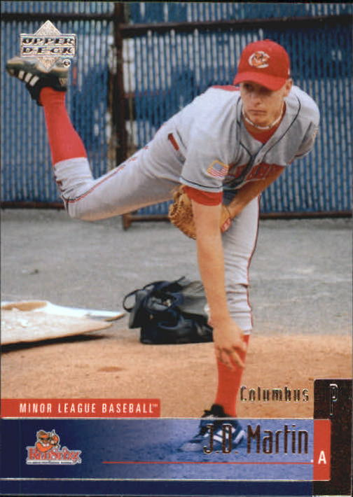 2002 UD Minor League #98 J.D. Martin