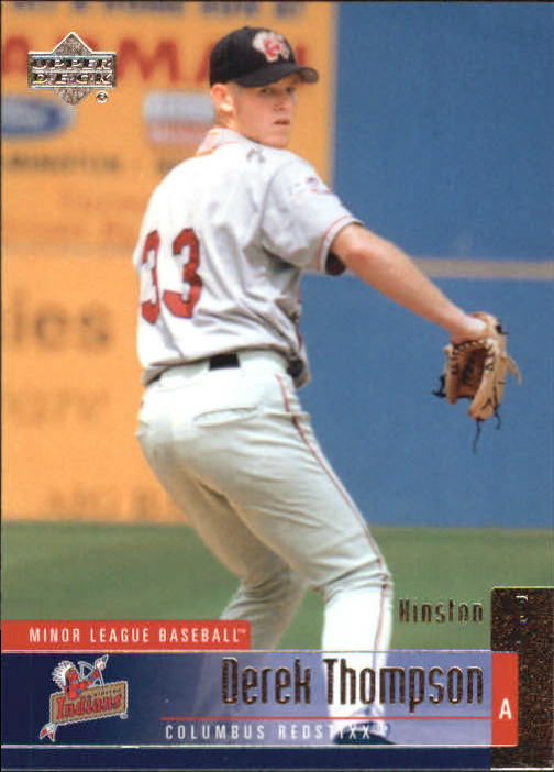 2002 UD Minor League #100 Derek Thompson