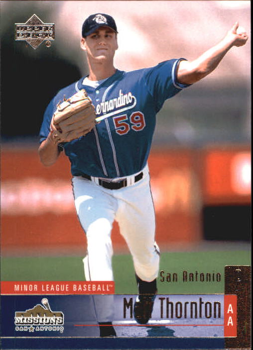 2002 UD Minor League #104 Matt Thornton