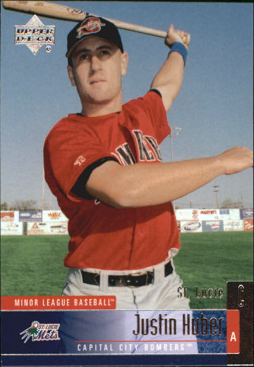 2002 UD Minor League #118 Justin Huber