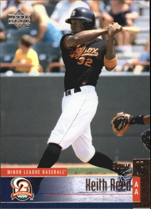 2002 UD Minor League #121 Keith Reed