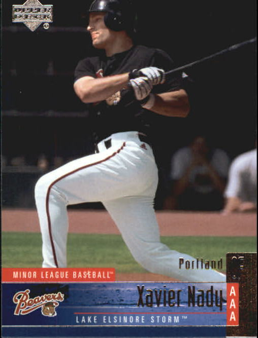 2002 UD Minor League #132 Xavier Nady