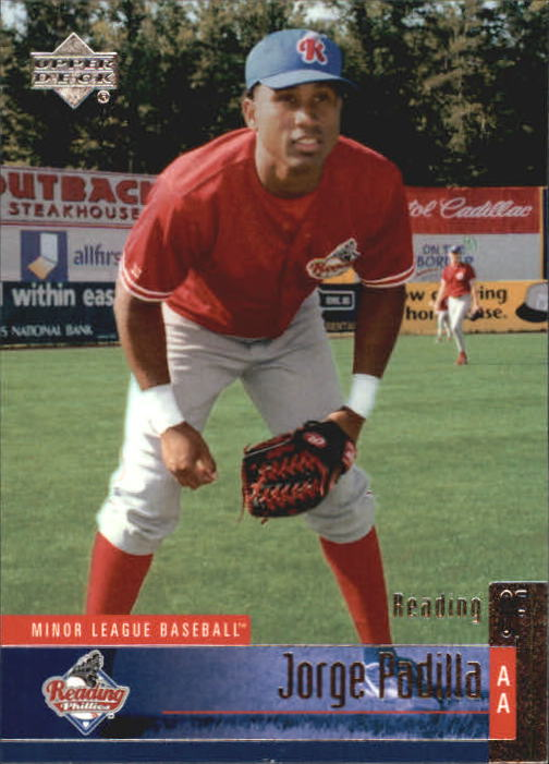 2002 UD Minor League #136 Jorge Padilla