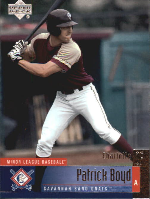 2002 UD Minor League #146 Patrick Boyd