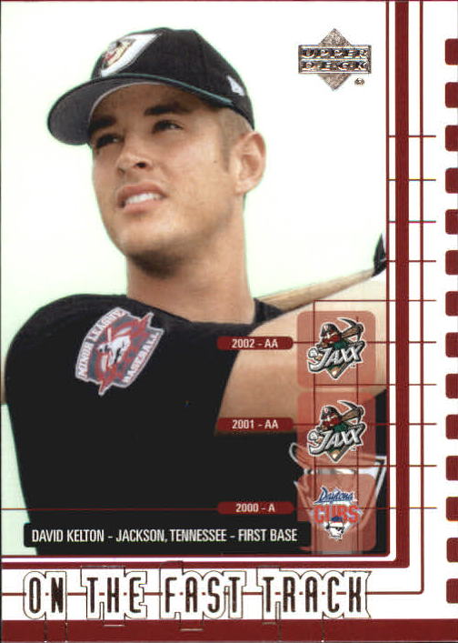 2002 UD Minor League #208 David Kelton OFT