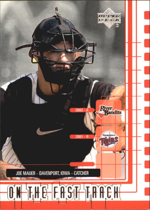 2002 UD Minor League #228 Joe Mauer OFT front image