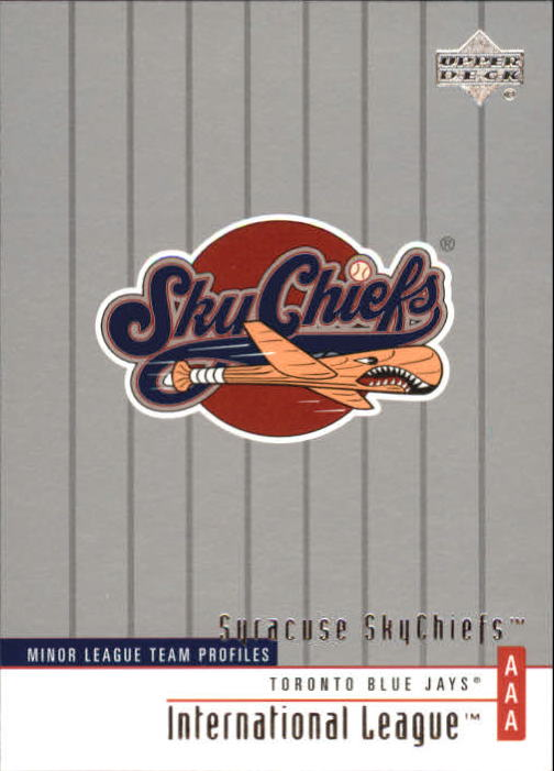 2002 UD Minor League #256 Syracuse Skychiefs TM