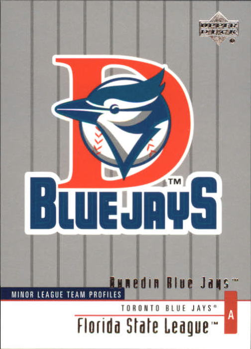 2002 UD Minor League #258 Dunedin Blue Jays TM