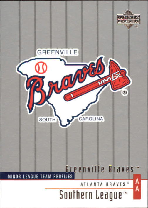 2002 UD Minor League #262 Greenville Braves TM