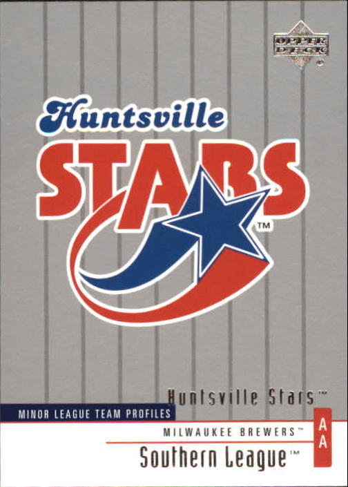 2002 UD Minor League #268 Huntsville Stars TM