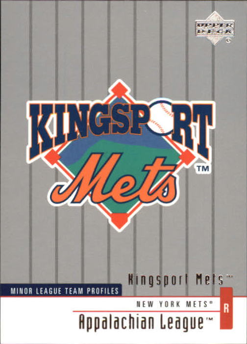 2002 UD Minor League #333 Kingsport Mets TM