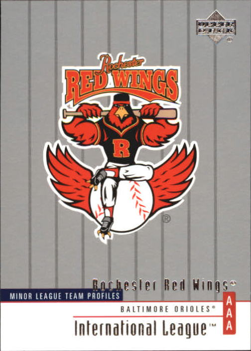 2002 UD Minor League #334 Rochester Red Wings TM