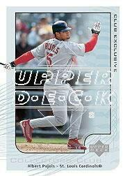2002 Upper Deck Collectors Club #MLB13 Albert Pujols
