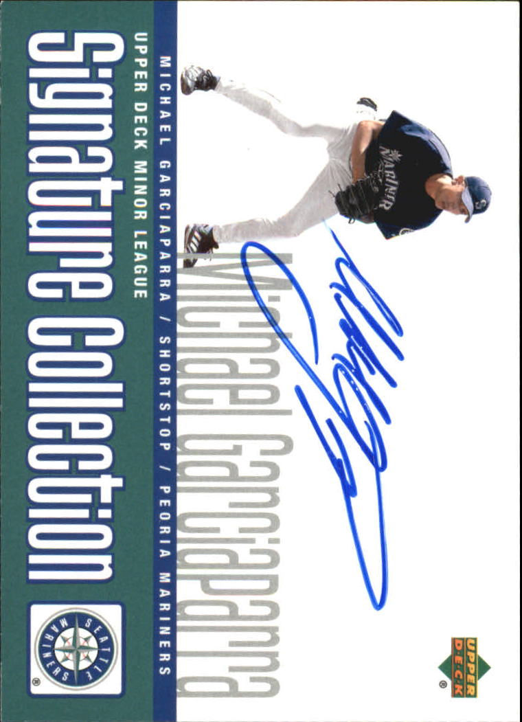 2002 UD Minor League Signature Collection #MG Michael Garciaparra