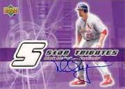 2002 Upper Deck Rookie Update Star Tributes Signatures #MM Mark McGwire