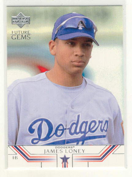 2002 Upper Deck Prospect Premieres #40 James Loney XRC