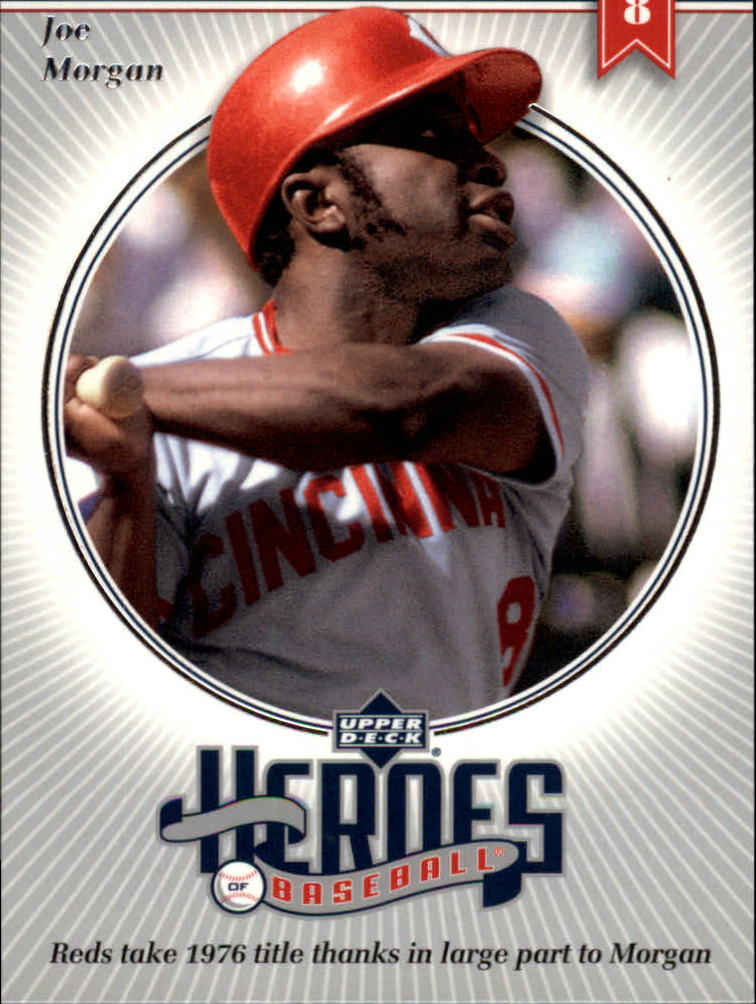 2002 Upper Deck Prospect Premieres Heroes of Baseball #HJM6 Joe Morgan