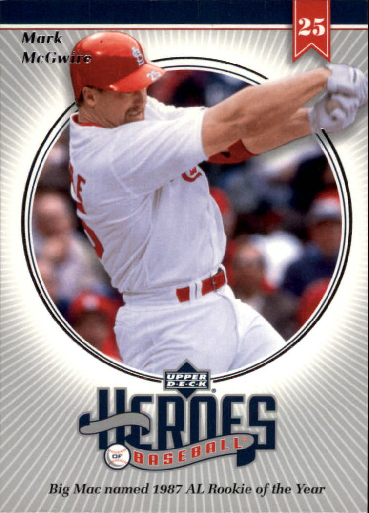 2002 Upper Deck Prospect Premieres Heroes of Baseball #HMC3 Mark McGwire