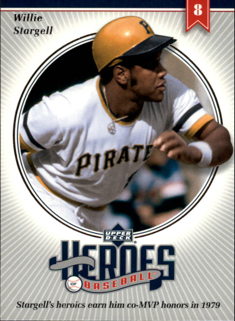 2002 Upper Deck Prospect Premieres Heroes of Baseball #HWS1 Willie Stargell
