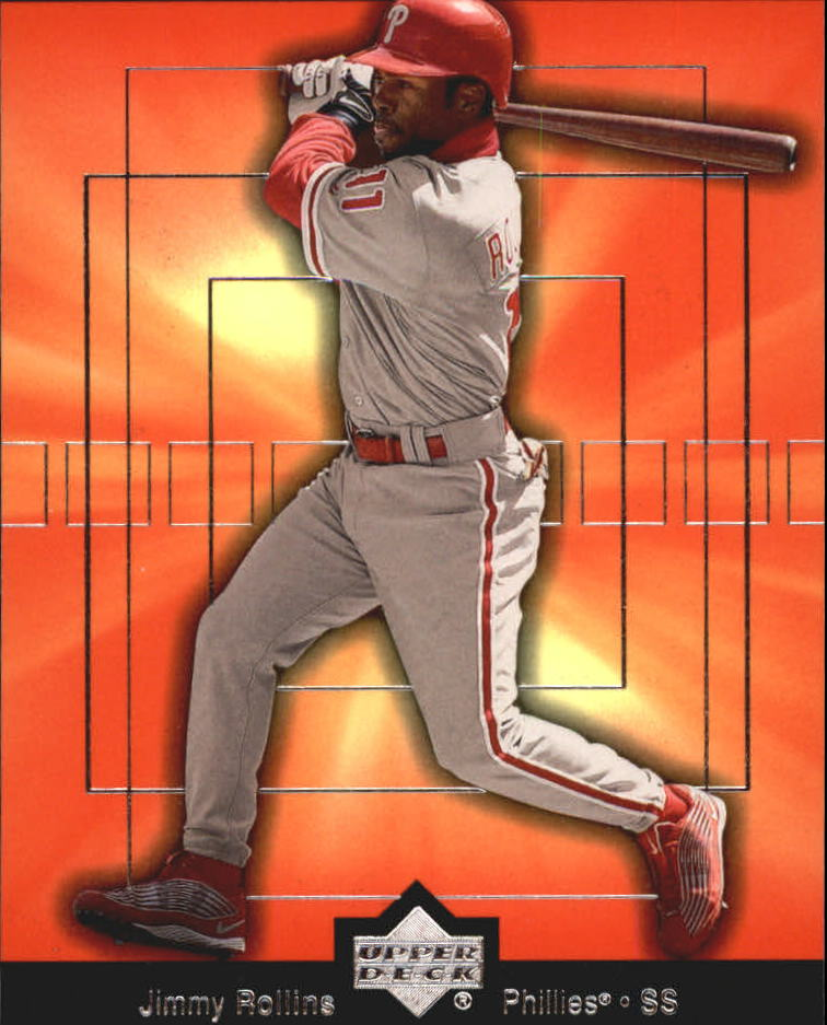 2002 Upper Deck Breakout Performers #BP7 Jimmy Rollins