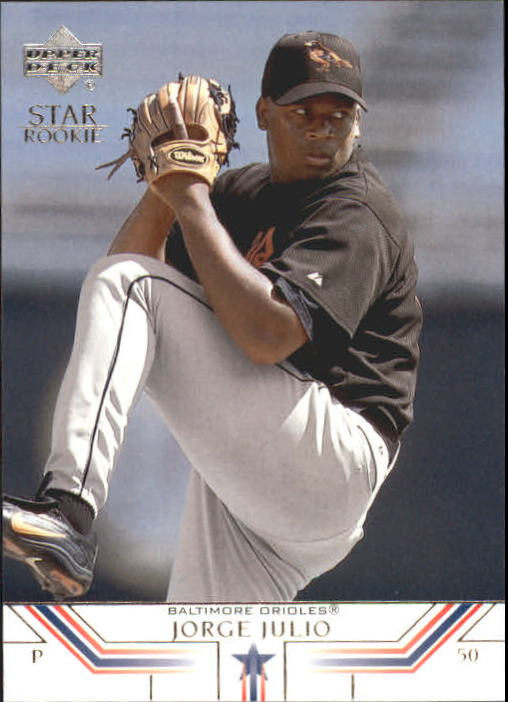 2002 Upper Deck #11 Jorge Julio SR
