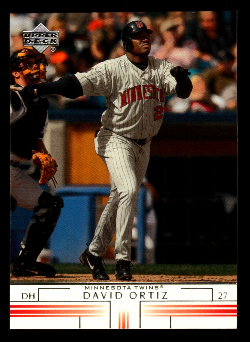 2002 Upper Deck #215 David Ortiz