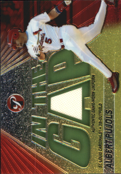 2002 Topps Pristine In the Gap #AP Albert Pujols Uni B