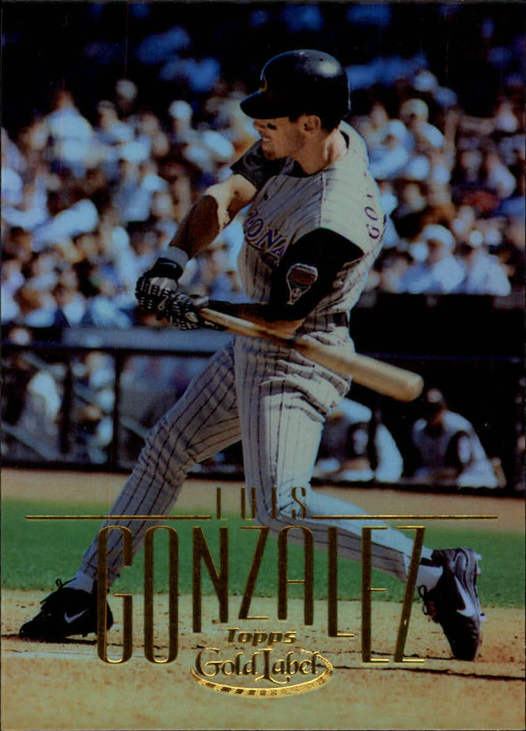 2002 Topps Gold Label #3 Luis Gonzalez