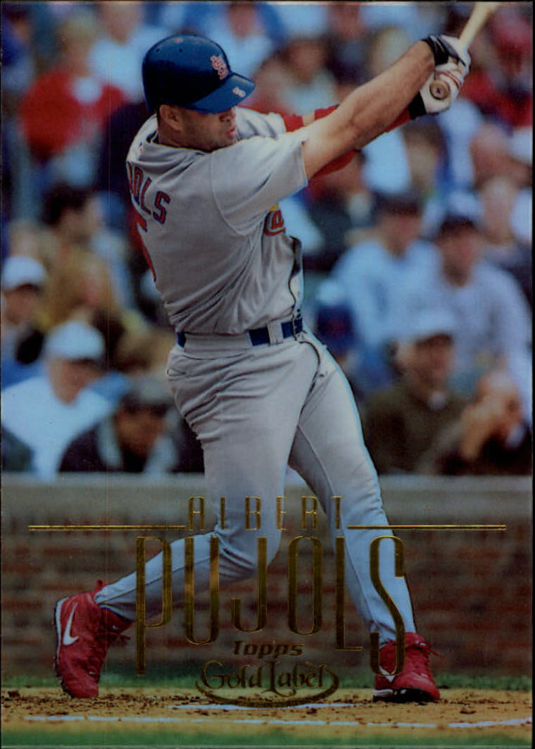 2002 Topps Gold Label #5 Albert Pujols