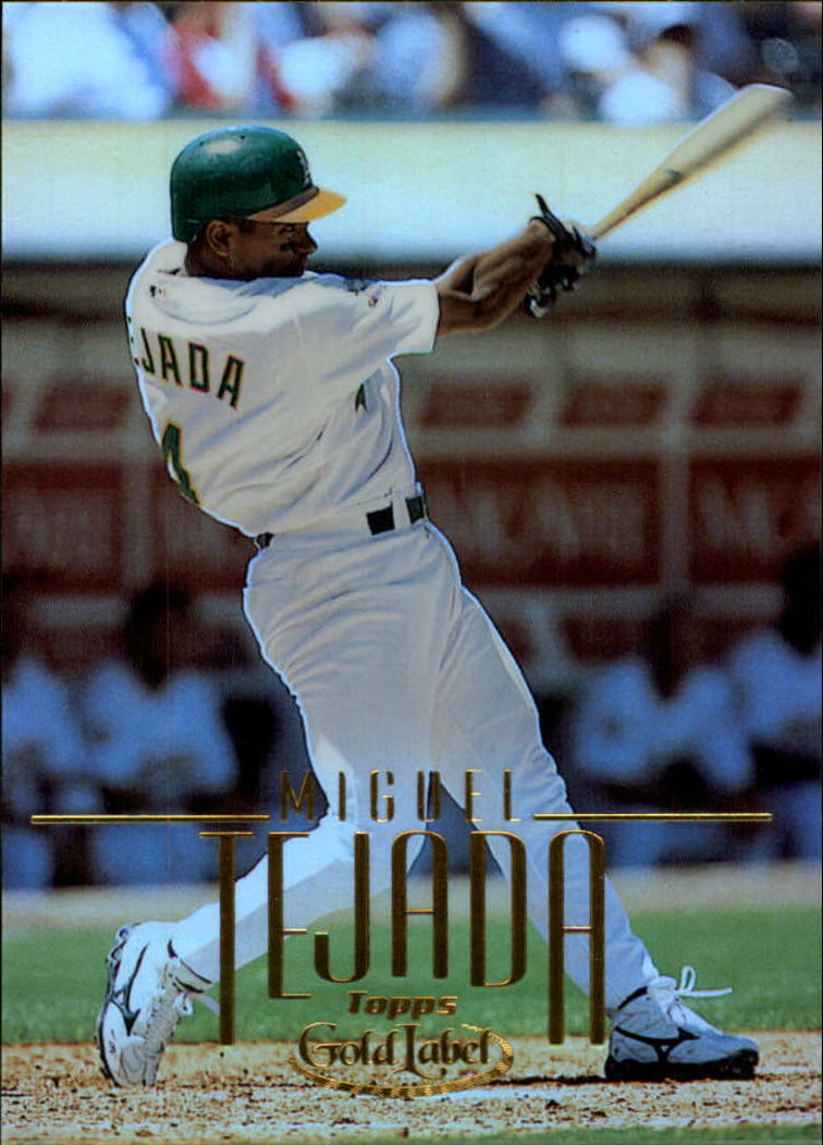 2002 Topps Gold Label #9 Miguel Tejada
