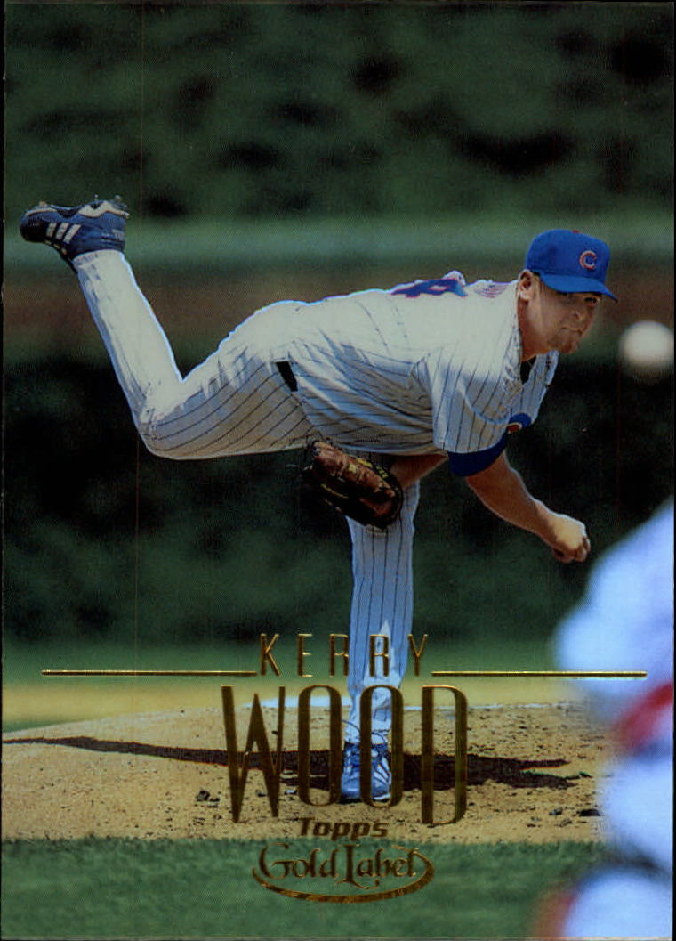 2002 Topps Gold Label #14 Kerry Wood