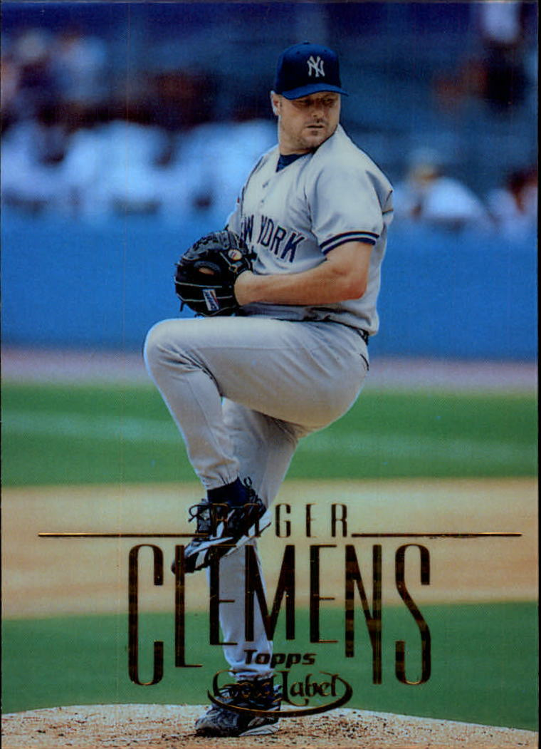 2002 Topps Gold Label #22 Roger Clemens